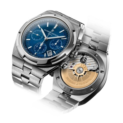 Overseas chrono blue 5500V/110A-B148 recto-verso